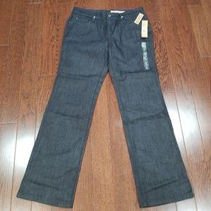 DKNY bootleg jeans